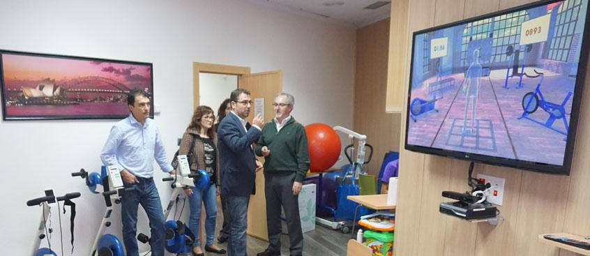 El grupo municipal socialista visita el centro de esclerosis múltiple