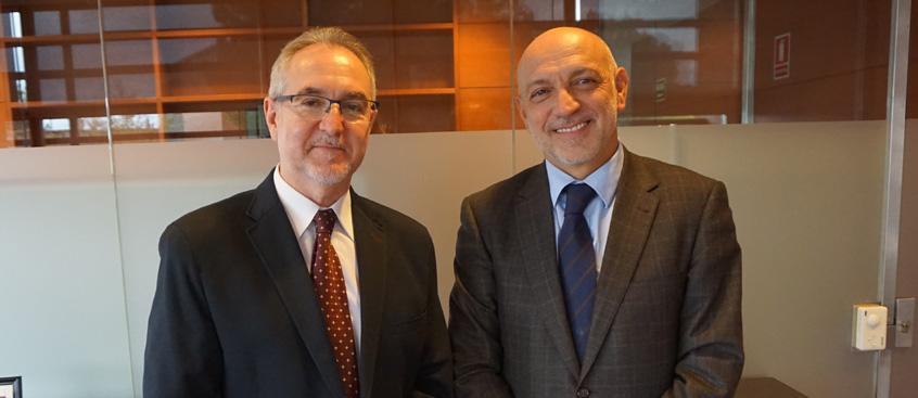 Esclerosis Múltiple Albacete se reúne con el D.G. de Calidad