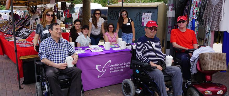 esclerosis múltiple albacete celebra su campaña informativa