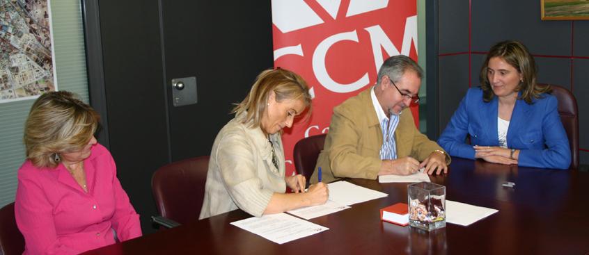 Obra Social CCM  firma un convenio de colaboración con Esclerosis Múltiple