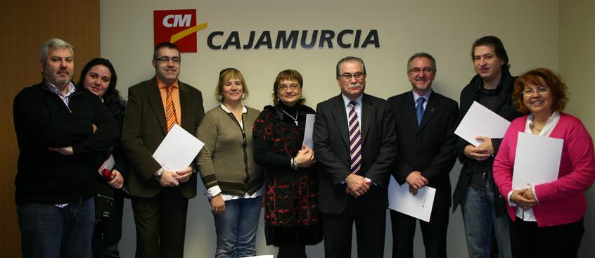 Fundación Caja Murcia y ADEM-AB renuevan su convenio de colaboración