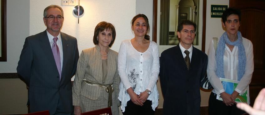 Francisco Delgado premiado por las Asociaciones de Parkinson de Albacete