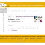 Nuestro portal web reconocido como Web de Interés Sanitario