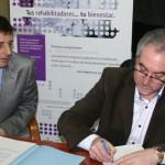 """Fundación """"La Caixa"""" y la Asociación Española de Esclerosis Múltiple de Albacete"""
