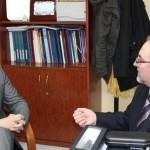El Delegado de la JCCM visita la Asociación de Esclerosis Múltiple de Albacete