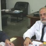 Reunión con el Director Gerente del  Hospital para presentarle nuestro trabajo