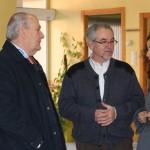 Representantes de la Diputación visitan la Asociación de Esclerosis Múltiple