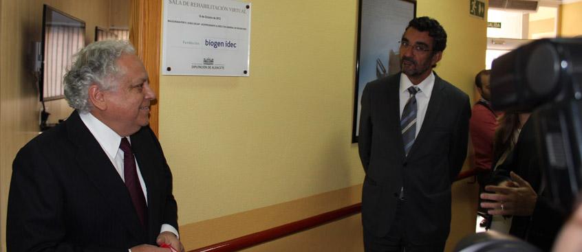 Sala de rehabilitación virtual para pacientes con esclerosis múltiple