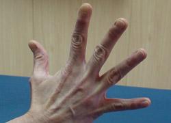Ejercicio para trabajar la mano