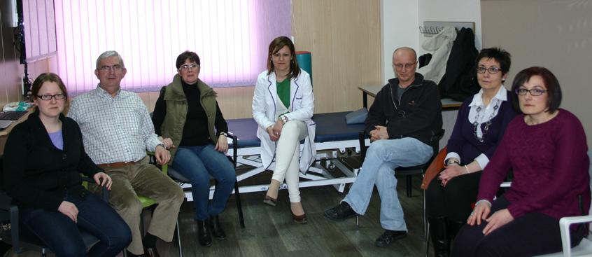 grupo de autoayuda en el centro de esclerosis múltiple