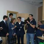 El Consejero de Sanidad y Asuntos Sociales visitó el CIEN de Esclerosis Múltiple