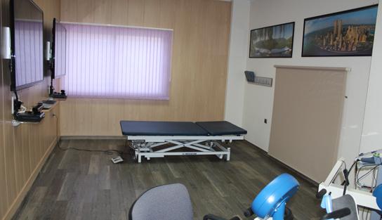 sala fisioterapia esclerosis múltiple