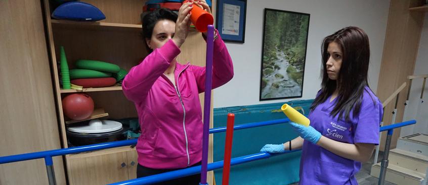 pacientes de fisioterapia