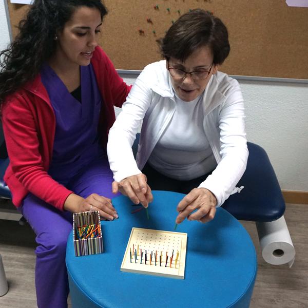 terapia ocupacional en el centro de esclerosis múltiple