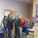 Los concejales del Grupo Municipal Socialista visitaron el centro de Esclerosis Múltiple