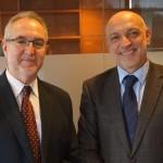 El Presidente de Esclerosis Múltiple se reúne con el D. G. de Calidad y Humanización