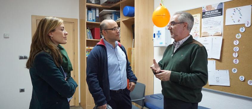 El Grupo PP visita esclerosis múltiple