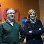 La portavoz del grupo municipal Ciudadanos visita el centro de Esclerosis Múltiple