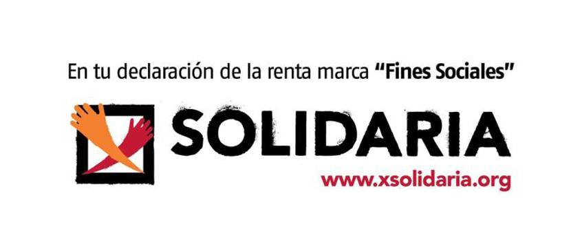 """En tu Declaración de la Renta marca la """"X Solidaria"""", tu gesto lo cambia TODO"""