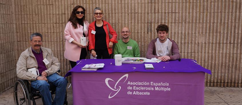 cuestación de la asociación de esclerosis múltiple de albacete