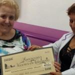 La Asociación de vecinos de Cordovilla colabora con Esclerosis Múltiple