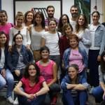 Los profesionales del Centro de Esclerosis Múltiple realizan un curso de SVB y DESA