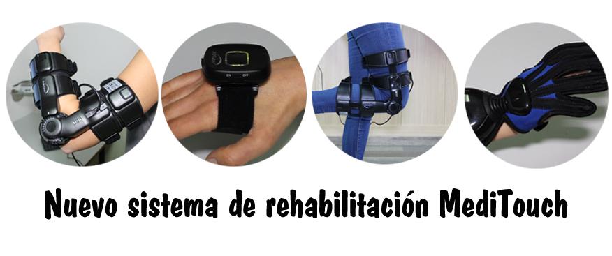 Esclerosis Múltiple Albacete implanta un sistema de rehabilitación llamado MediTouch