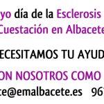 16 de mayo día de la Esclerosis Múltiple: ¡¡NECESITAMOS TU AYUDA COMO VOLUNTARIO!!