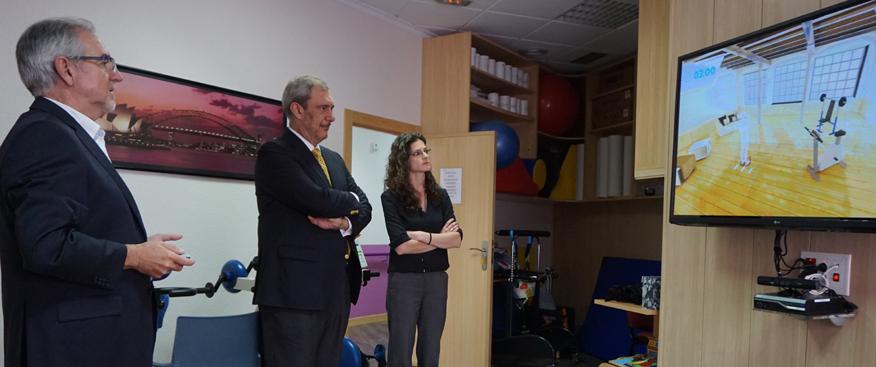 sanofi genzime visita el centro de esclerosis múltiple albacete