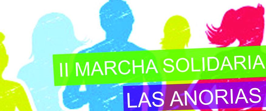 II Marcha Solidaria Las Anorias a beneficio de la Asociación de Esclerosis Múltiple