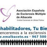 Aguas de Albacete cede un espacio en sus facturas a Esclerosis Múltiple