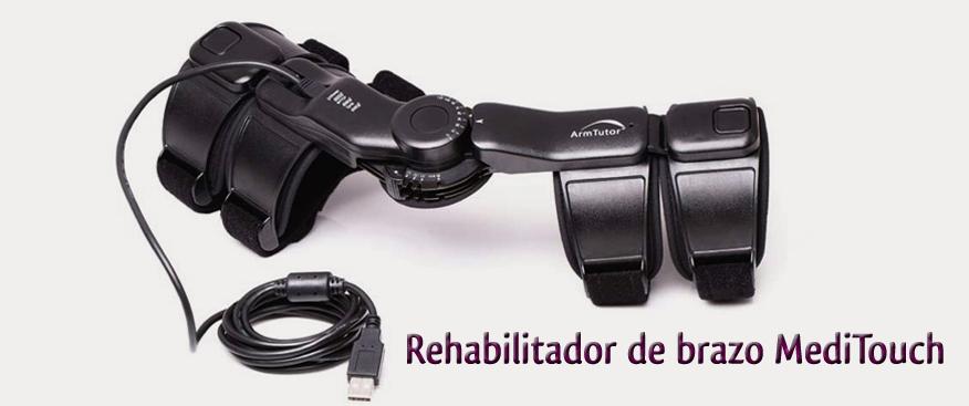 rehabilitador de brazo en el centro de esclerosis múltiple
