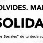 No te olvides, marca la X solidaria, casilla de «Fines Sociales» de tu declaración de la renta