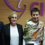 Las directoras generales de la Consejería de Sanidad visitan el Centro de Esclerosis Múltiple