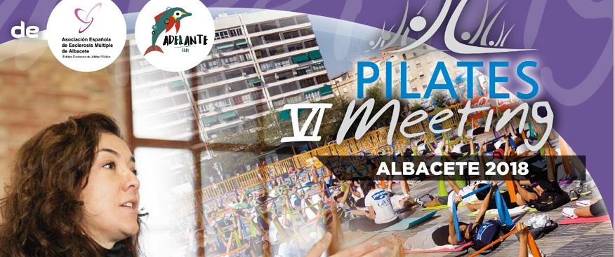 VI Pilates Meeting a beneficio de la Asociación de Esclerosis Múltiple y la Asociación Adelante CLM