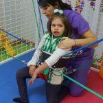 Evolución de Natalia durante el tratamiento con el Método Therasuit