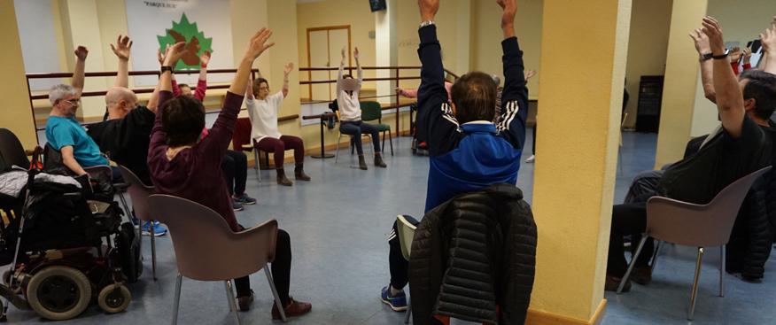 Taller de Chi Kung en la Asociación Española de Esclerosis Múltiple