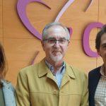 El Director de Aguas de Albacete visita el Centro de Esclerosis Múltiple