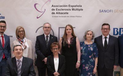 Entrega de premios de la Asociación de Esclerosis Múltiple por su 25 Aniversario