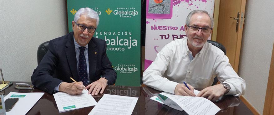 Fundación Globalcaja mantiene la colaboración con la Asoc. De Esclerosis Múltiple