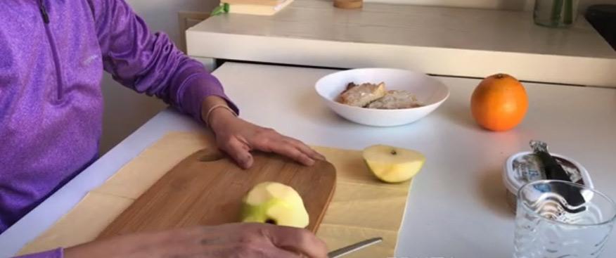 La comida como entrenamiento cuando una persona sufre un daño cerebral