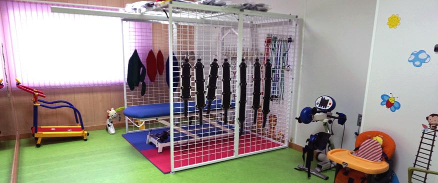 En el método TheraSuit se utiliza el sistema de poleas para fortalecer los grupos musculares