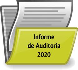 informe auditoría 2020